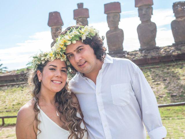 El matrimonio de Rodrigo y Izzy en Isla de Pascua, Isla de Pascua 23