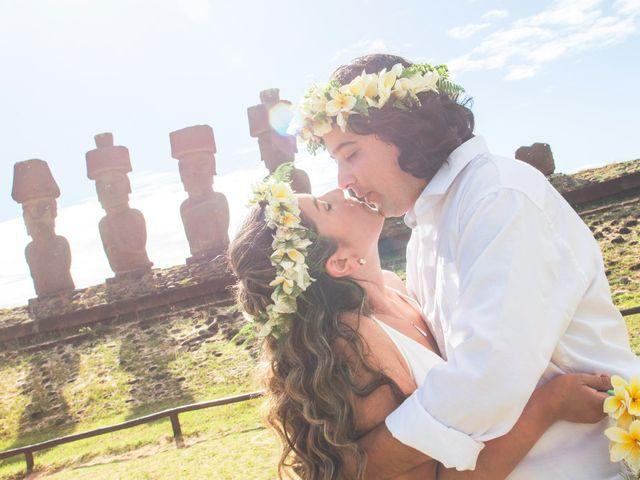 El matrimonio de Rodrigo y Izzy en Isla de Pascua, Isla de Pascua 27