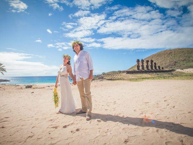 El matrimonio de Rodrigo y Izzy en Isla de Pascua, Isla de Pascua 28