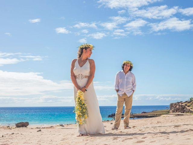 El matrimonio de Rodrigo y Izzy en Isla de Pascua, Isla de Pascua 30