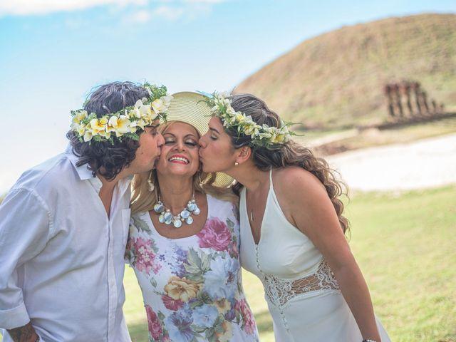 El matrimonio de Rodrigo y Izzy en Isla de Pascua, Isla de Pascua 31