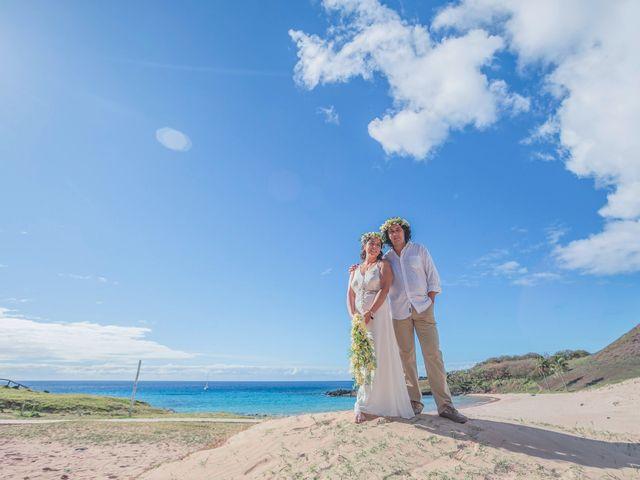 El matrimonio de Rodrigo y Izzy en Isla de Pascua, Isla de Pascua 33