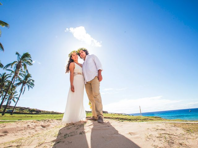 El matrimonio de Rodrigo y Izzy en Isla de Pascua, Isla de Pascua 34