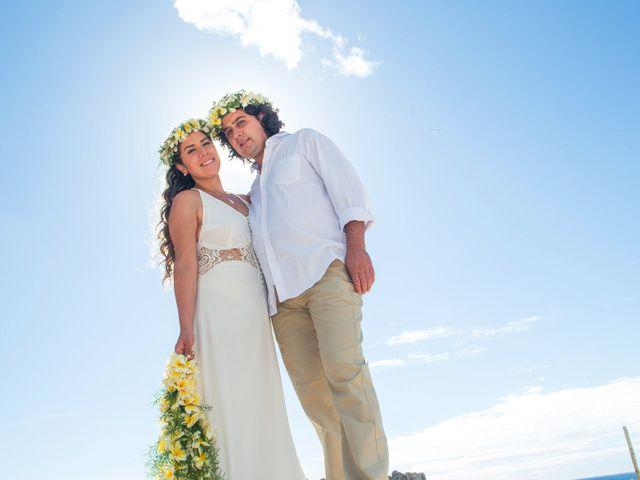 El matrimonio de Rodrigo y Izzy en Isla de Pascua, Isla de Pascua 35