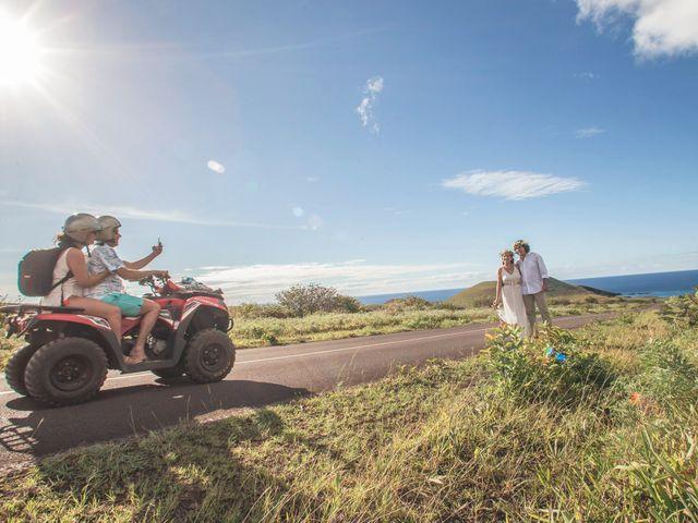 El matrimonio de Rodrigo y Izzy en Isla de Pascua, Isla de Pascua 43