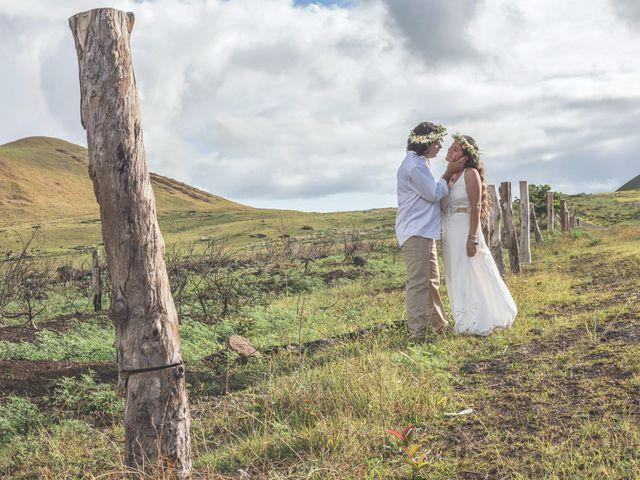 El matrimonio de Rodrigo y Izzy en Isla de Pascua, Isla de Pascua 44