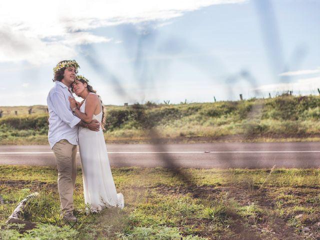 El matrimonio de Rodrigo y Izzy en Isla de Pascua, Isla de Pascua 46
