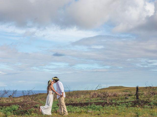 El matrimonio de Rodrigo y Izzy en Isla de Pascua, Isla de Pascua 48
