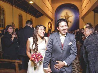 El matrimonio de Varinia y Jorge