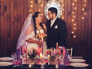 El matrimonio de Paulette y Hector