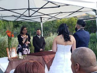 El matrimonio de Daniela y Eric 1
