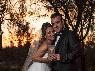 El matrimonio de Claudia  y Rodrigo  1