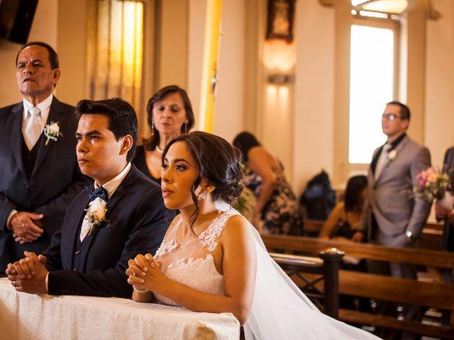 El matrimonio de Dariana y Javier