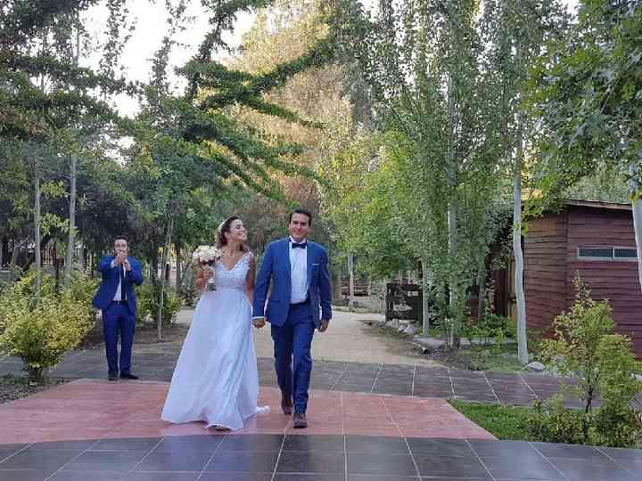 El matrimonio de Tania y Antonio