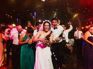 El matrimonio de Joyce  y Camilo