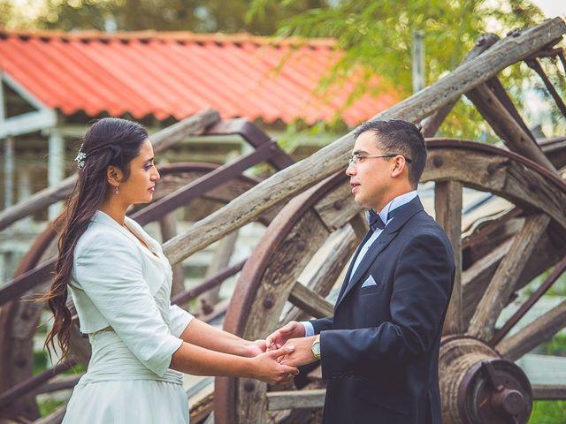 El matrimonio de Eduardo y Pía en Calle Larga, Los Andes 1