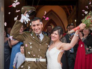 El matrimonio de Marisa y Javier