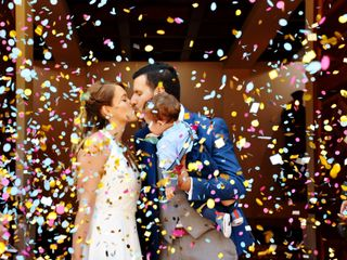 El matrimonio de Caty y Felipe 1