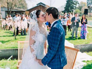 El matrimonio de Tania y Franco