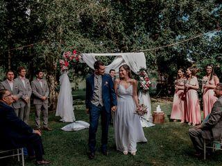 El matrimonio de Gabriela y Juan