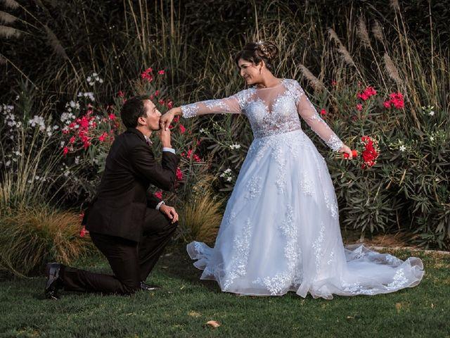 El matrimonio de Marcela y Esteban