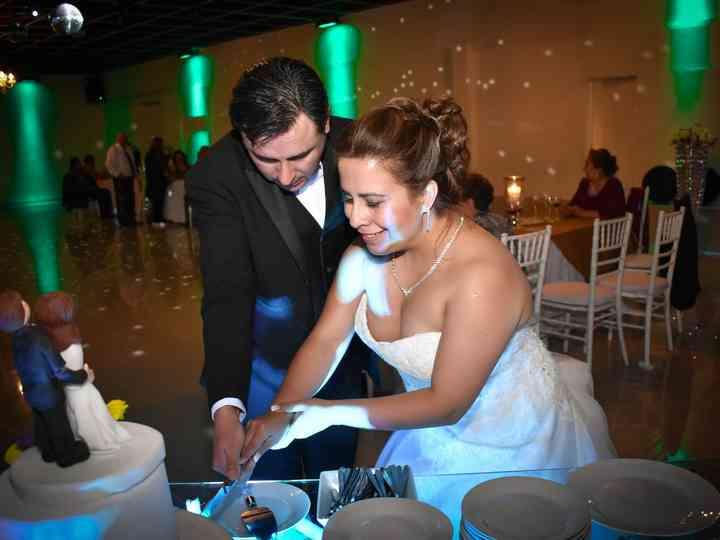 El matrimonio de Alejandra y Rodrigo