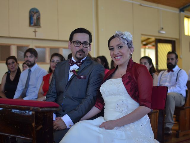 El matrimonio de Karen y Francisco