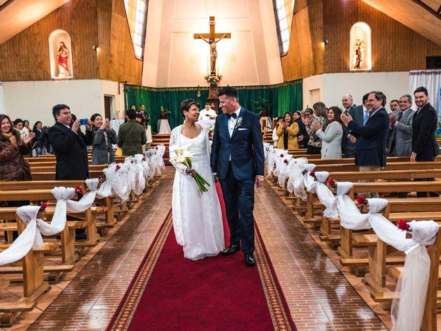 El matrimonio de Jorge y Pamela