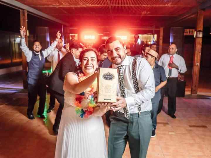 El matrimonio de Silvia  y Osvaldo