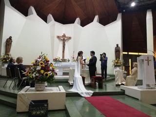 El matrimonio de Trinidad y David 1