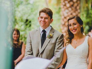 El matrimonio de Alfonso y Paulina