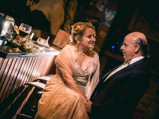 El matrimonio de María Mercedes y Mario