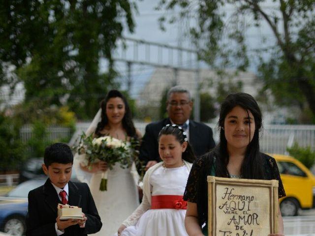 El matrimonio de Felipe Esteban  y María Paz  en San Bernardo, Maipo 13