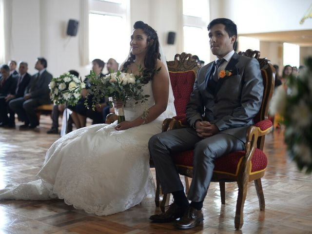 El matrimonio de Felipe Esteban  y María Paz  en San Bernardo, Maipo 18