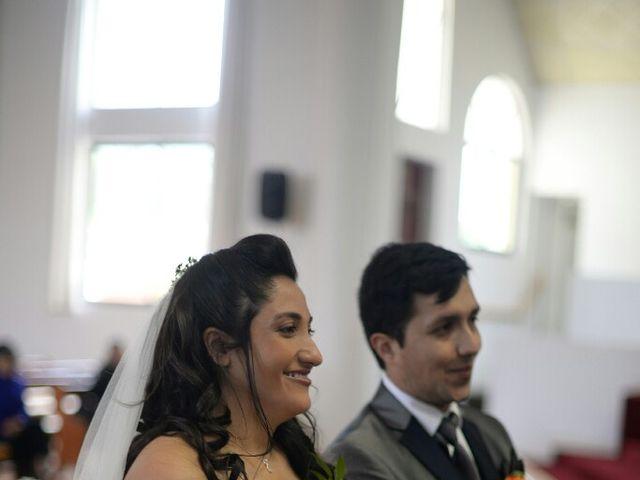 El matrimonio de Felipe Esteban  y María Paz  en San Bernardo, Maipo 19