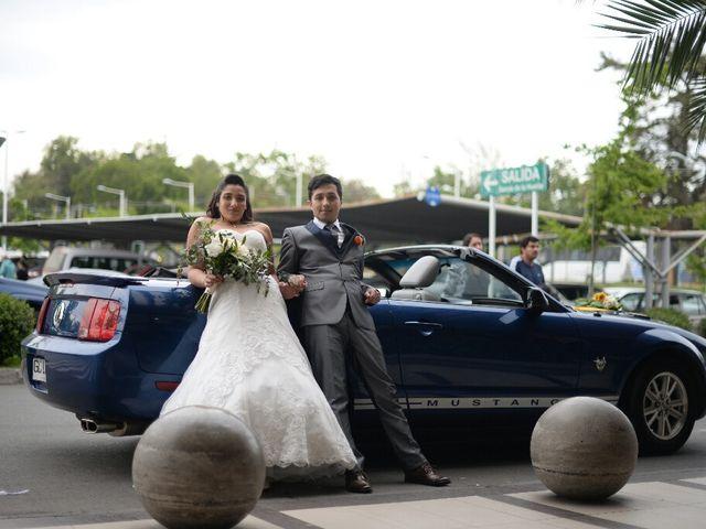 El matrimonio de Felipe Esteban  y María Paz  en San Bernardo, Maipo 45