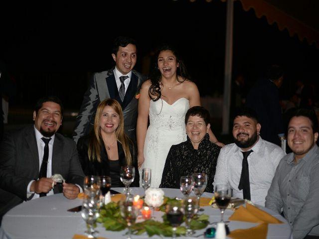 El matrimonio de Felipe Esteban  y María Paz  en San Bernardo, Maipo 55