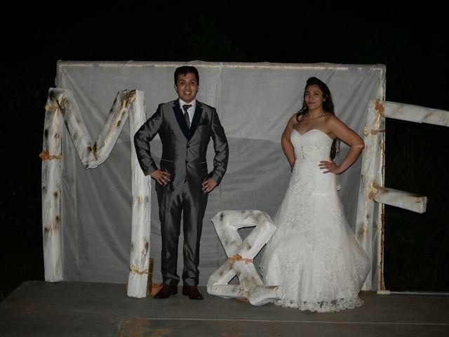 El matrimonio de Felipe Esteban  y María Paz  en San Bernardo, Maipo 75