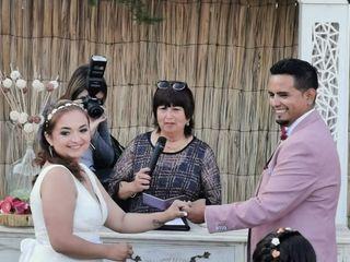 El matrimonio de Giselle y Mauricio