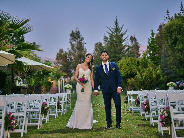 El matrimonio de Francisca y Osvaldo