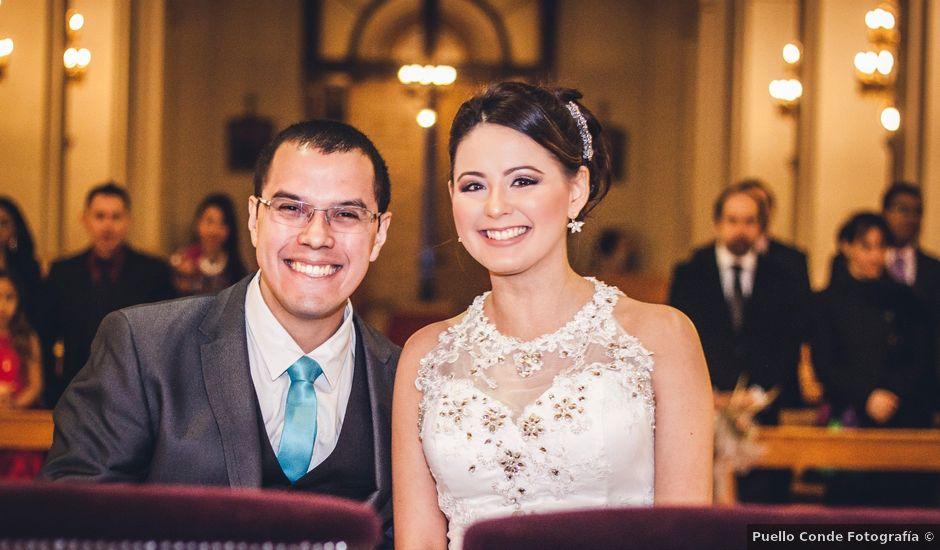 El matrimonio de Carlos y Elizabeth en Providencia, Santiago