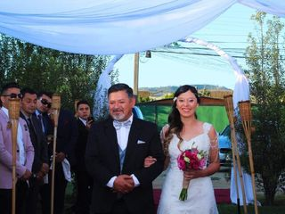 El matrimonio de Lore y Yerko 1