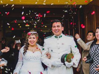 El matrimonio de Daniela   y Mauricio