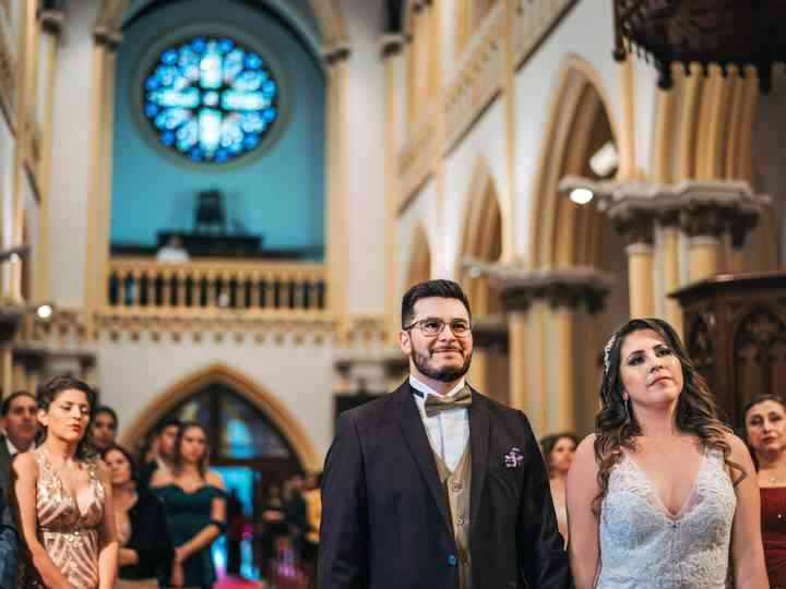 El matrimonio de Ximena y Claudio