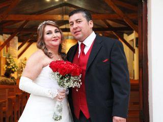 El matrimonio de María Flor y Jorge