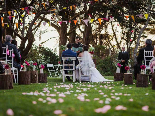 El matrimonio de Katherine y David