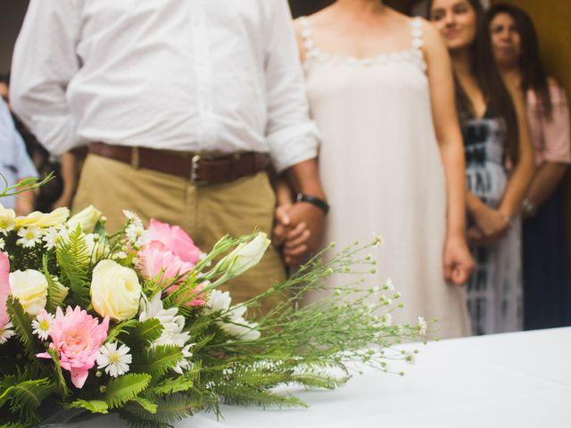 El matrimonio de Carlos y Carolina en San Vicente, Cachapoal 8