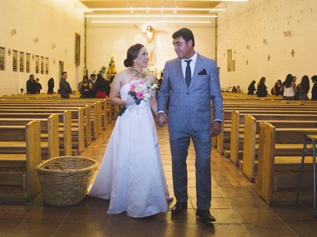 El matrimonio de Carlos y Carolina en San Vicente, Cachapoal 17
