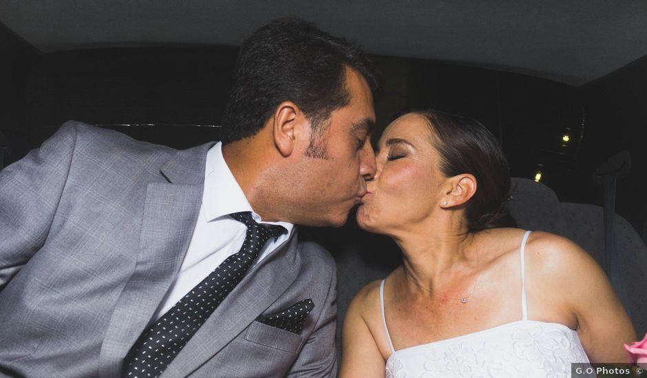 El matrimonio de Carlos y Carolina en San Vicente, Cachapoal