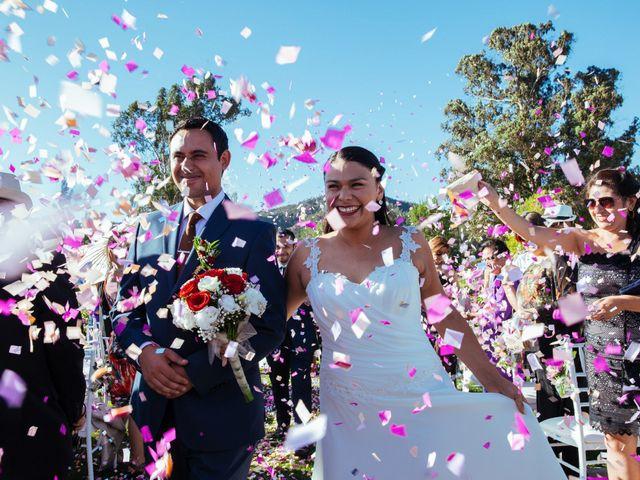 El matrimonio de Fernanda y Vicente